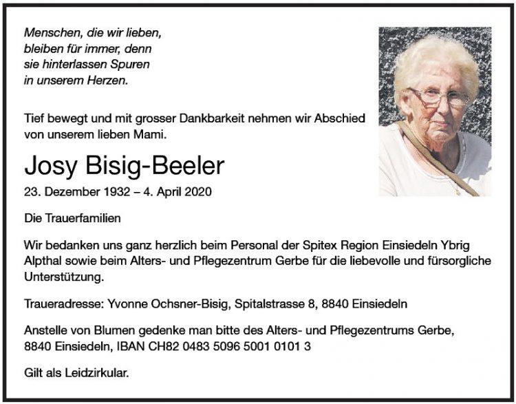 Josy Bisig-Beeler