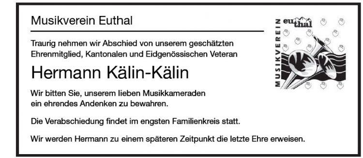 Hermann Kälin-Kälin
