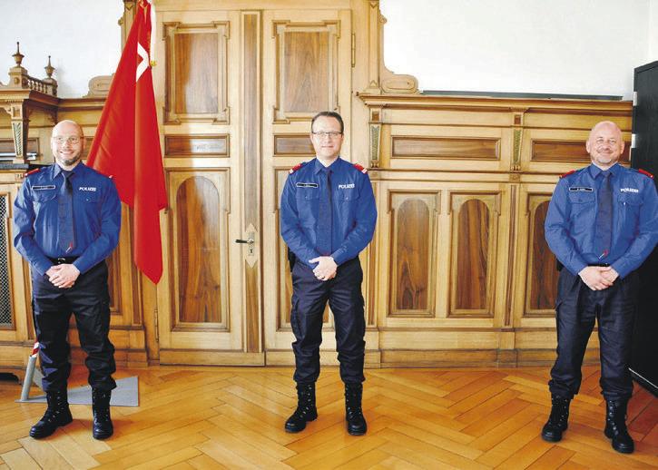 Sanfte Reorganisation bei der Kantonspolizei