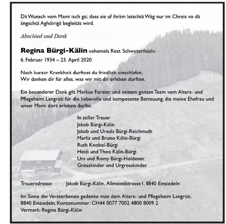 Regina Bürgi-Kälin