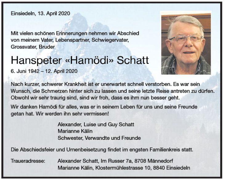 Hanspeter «Hamödi» Schatt