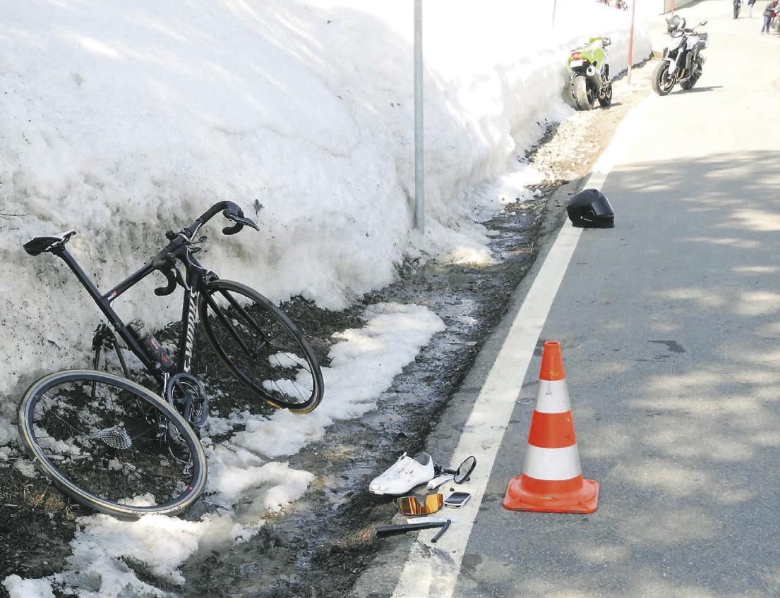 Fünf Verkehrsunfälle  letzten Samstag