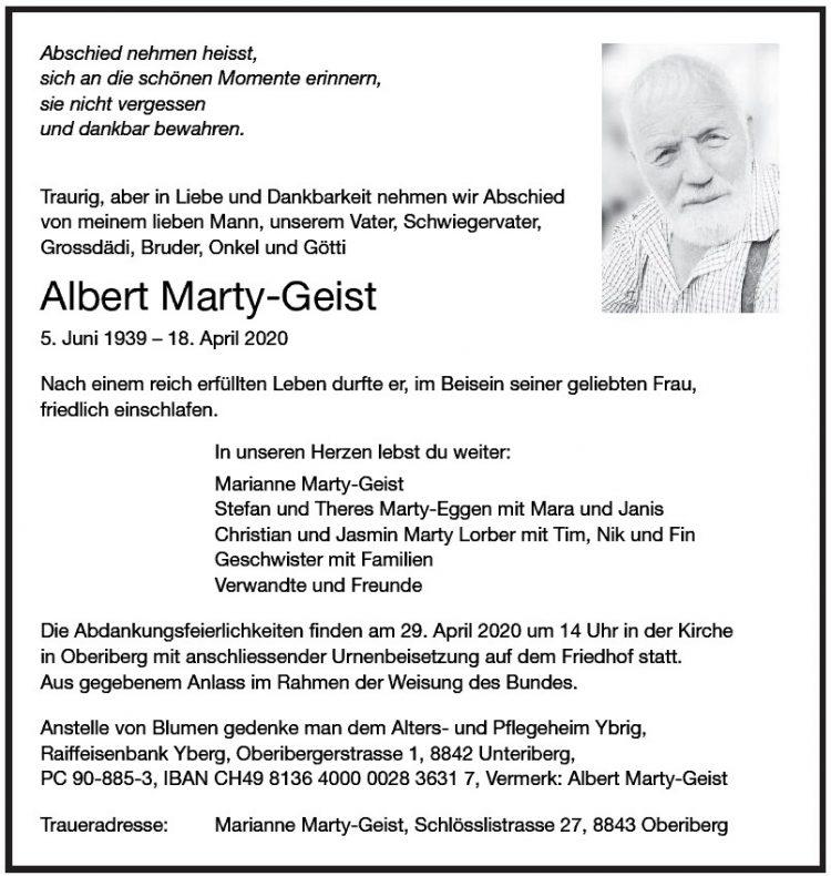Albert Marty-Geist