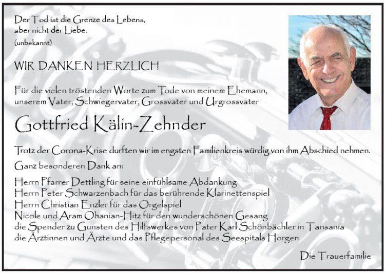 Gottfried Kälin-Zehnder