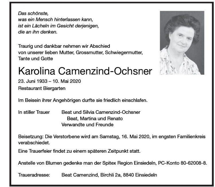 Karolina Camenzind-Ochsner
