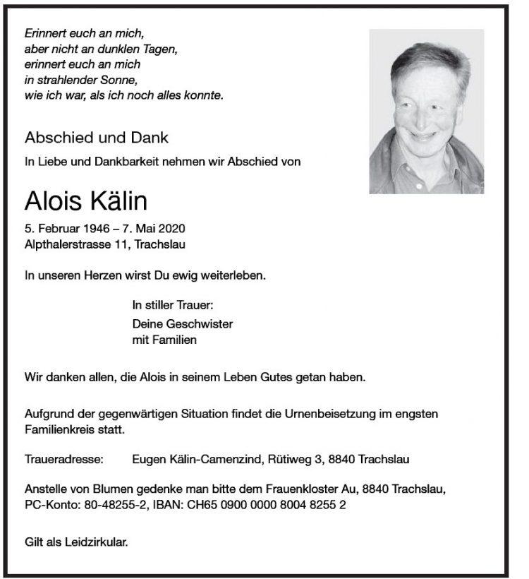 Alois Kälin