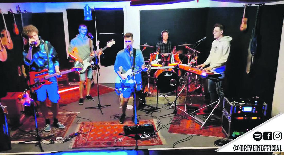 Einsiedler Band rockte live auf  Youtube vor Hunderten Zuschauern