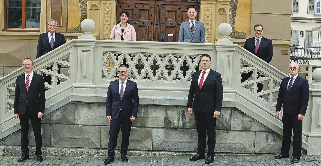 André Rüegsegger hat als einziger das Departement gewechselt
