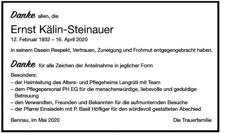 Ernst Kälin-Steinauer    DK