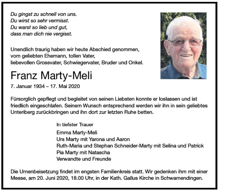 Franz Marty-Meli