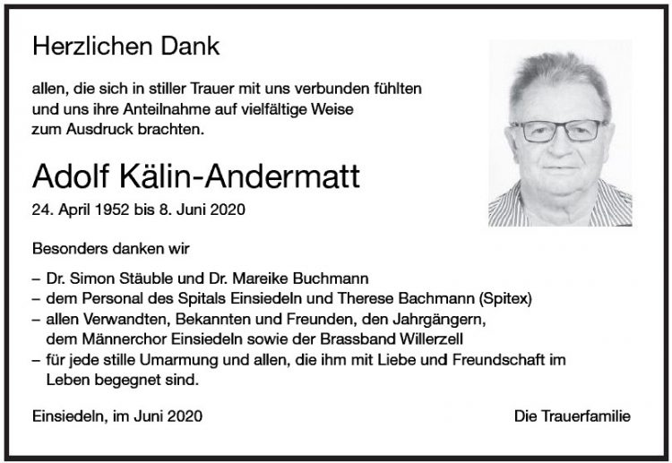 Adolf Kälin-Andermatt