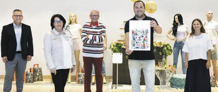 Einkaufstaschen mit  Designwettbewerb gestaltet
