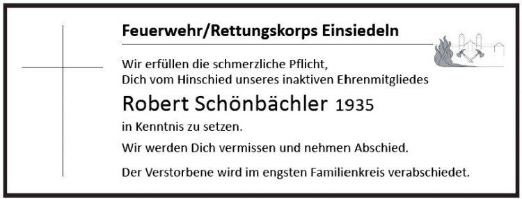 Robert Schönbächler 1935