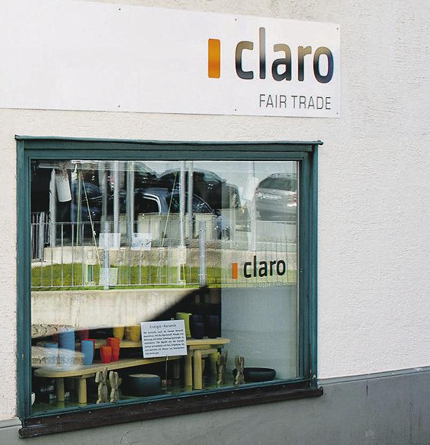 Claro Weltladen schliesst  Vereinsjahr mit Gewinn