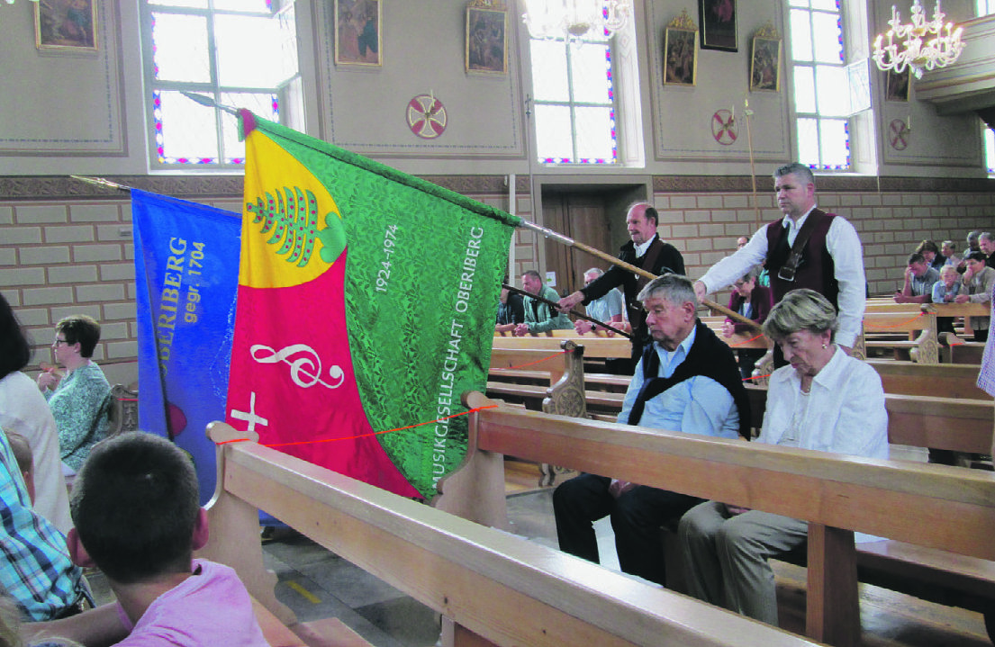 Oberiberg feierte seinen  Kirchenpatron: Johannes der Täufer