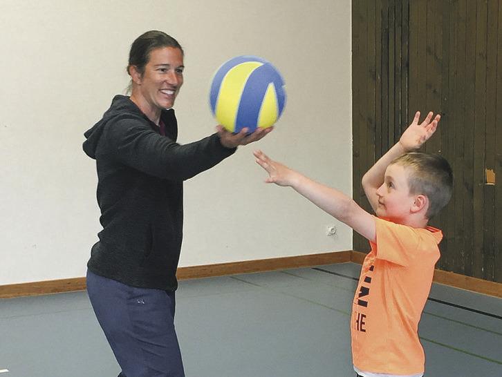 Volleyballclub startet neues  Programm für Kinder