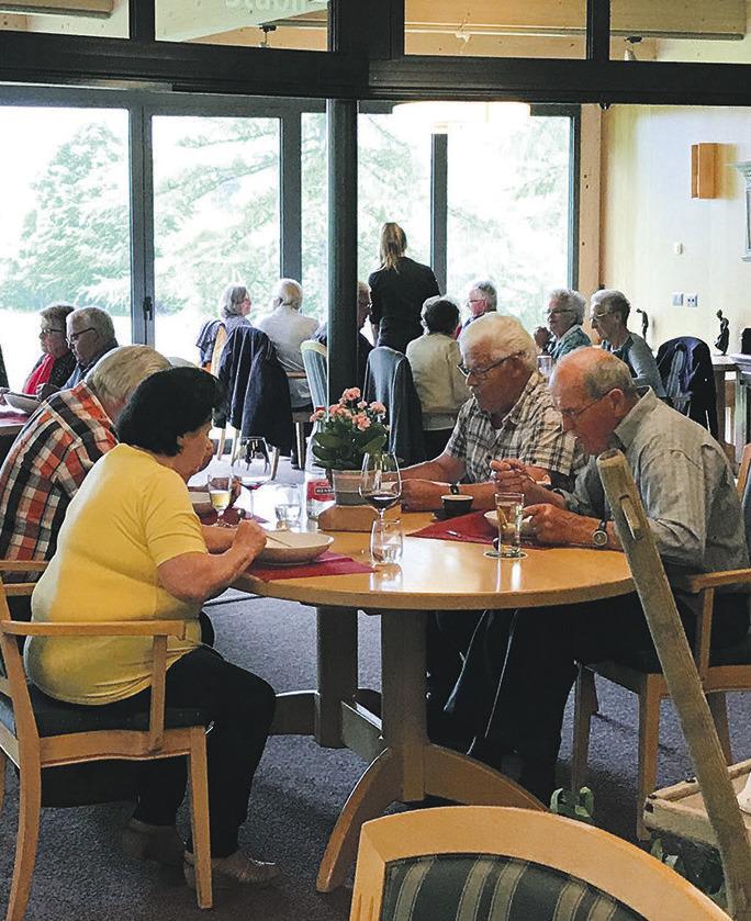 Seniorenmittagstisch erstmalig in Studen