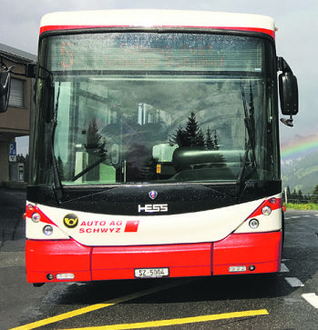 Ibergereggbus immer noch  auf unsicherer Bahn