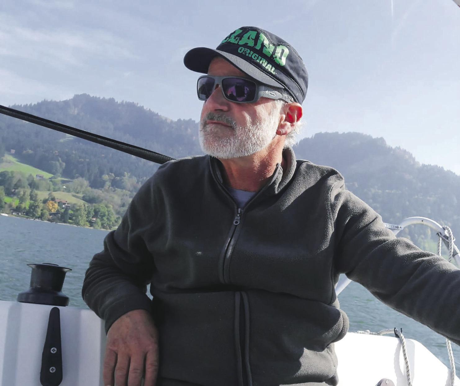 «Ich segle gerne auf dem  Sihlsee – mit Bise oder Föhn»