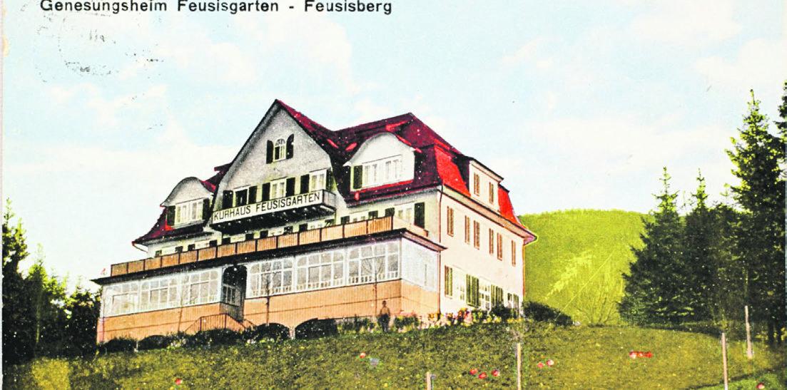 Der Feusisgarten in Feusisberg  und seine berühmten Gäste