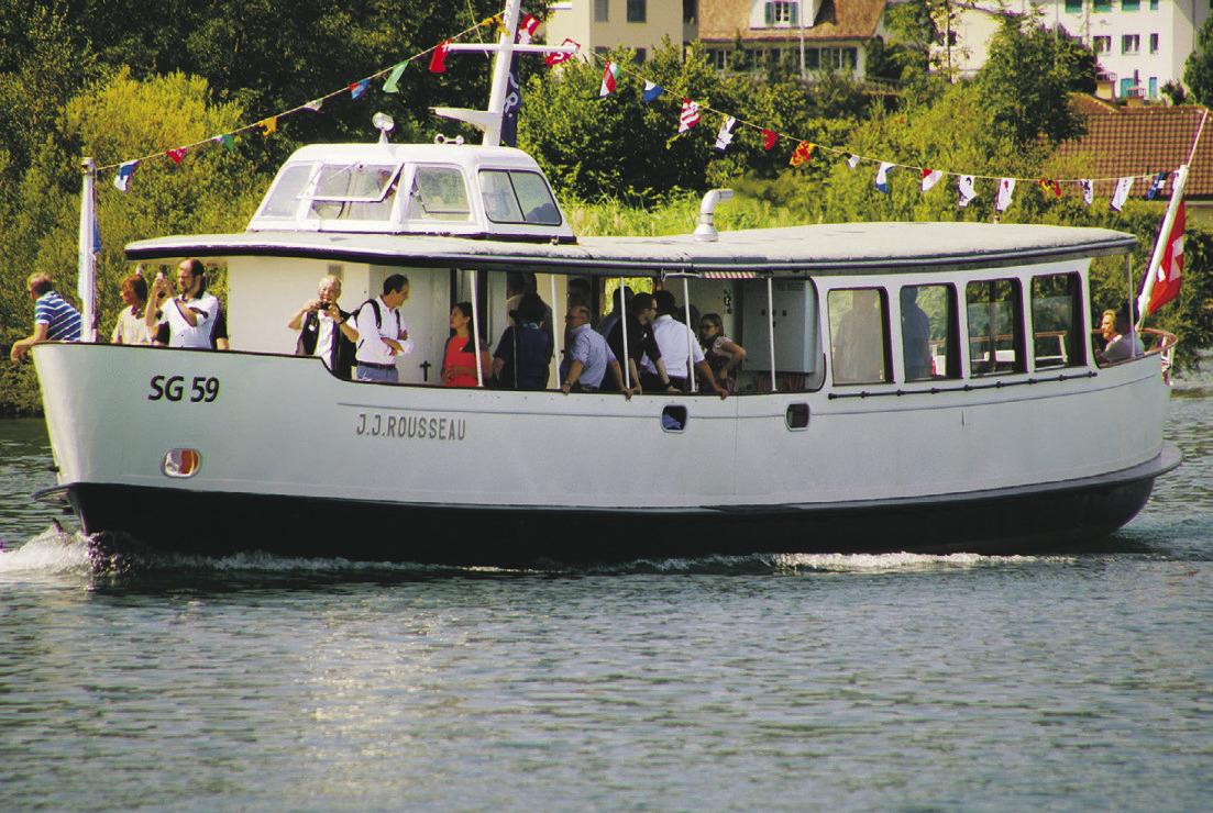 Neu verkehren sogar zwei Fähren  auf dem Obersee