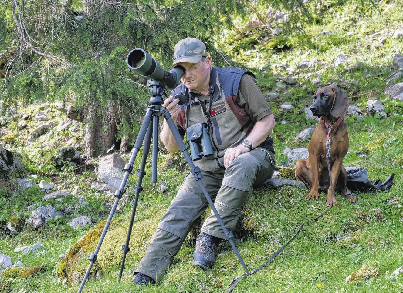 Unterwegs mit dem  Hüter der Wildtiere