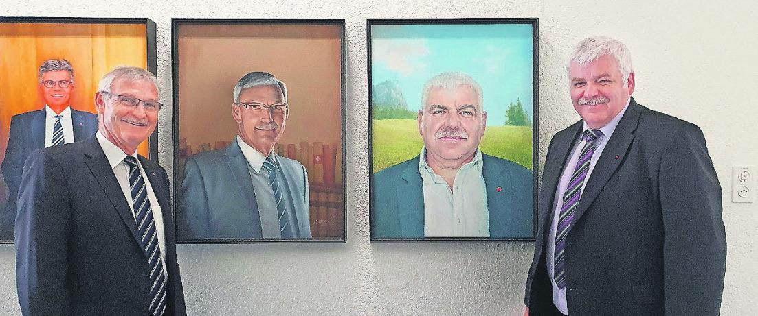 Grill und Dankesworte: Bünter und Reichmuth sagen Tschüss