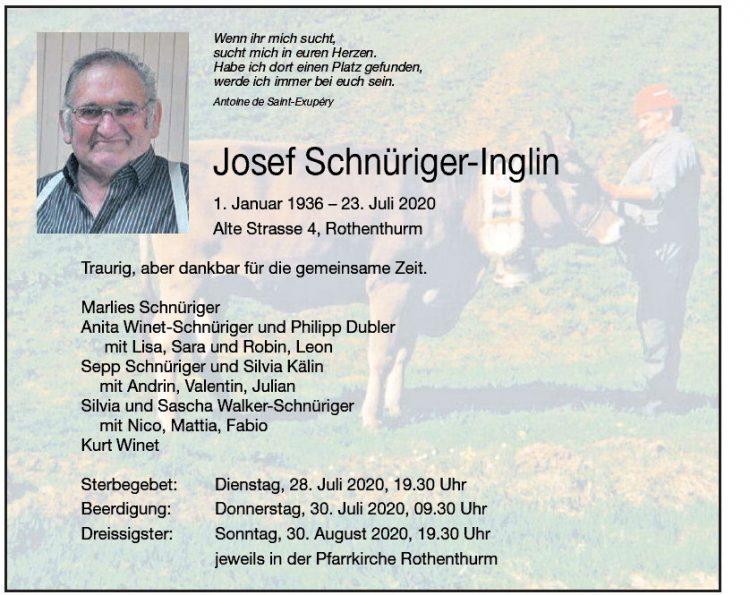 Josef Schnüriger-Inglin