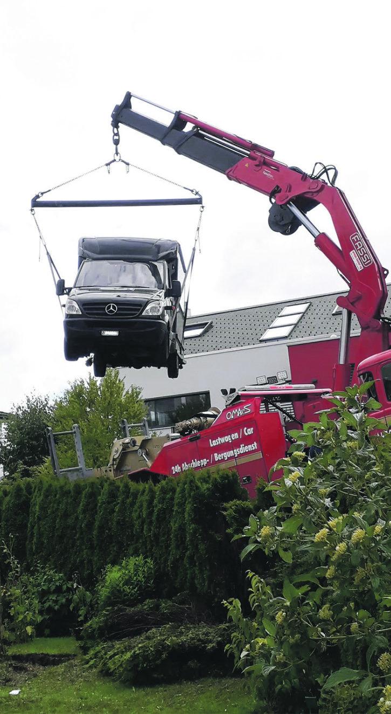 «Und plötzlich war da ein Lieferwagen im Garten»