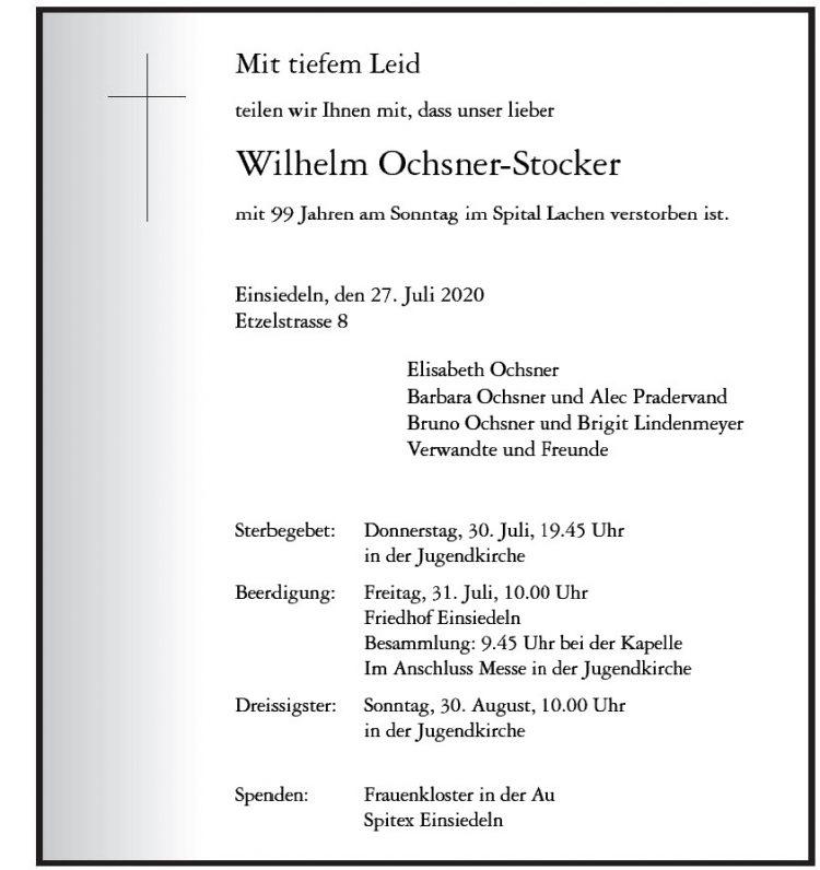 Wilhelm Ochsner-Stocker