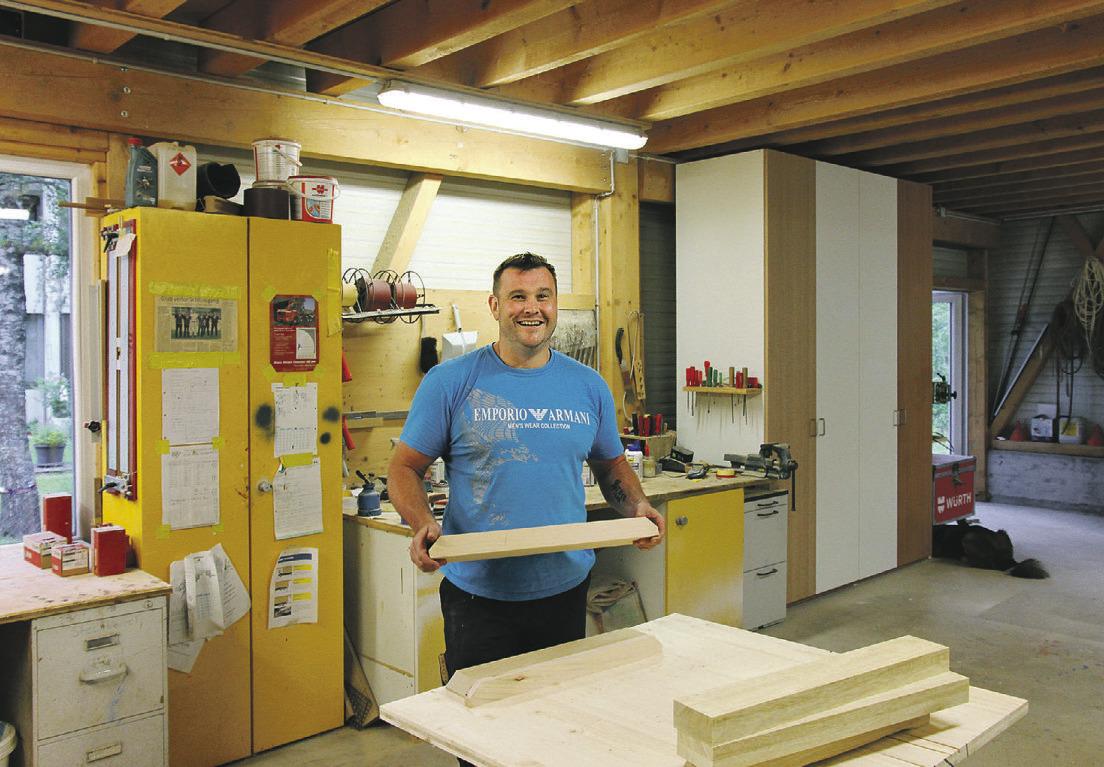 Neues Angebot für kreatives Gestalten mit Holz