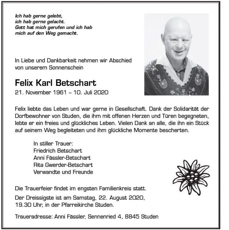 Felix Karl Betschart