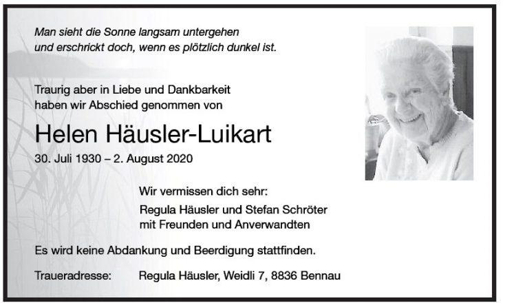 Helen Häusler-Luikart