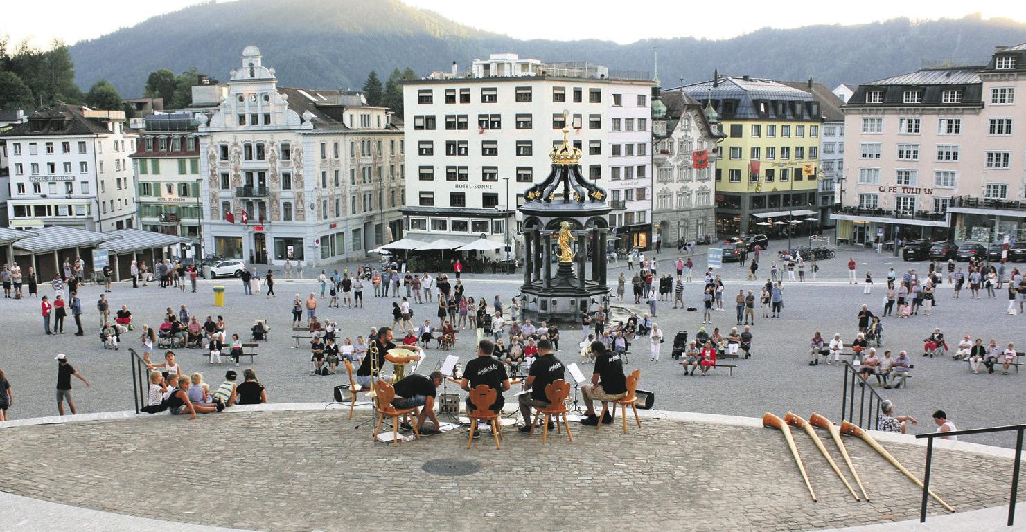 Besondere Musik auf  dem Klosterplatz