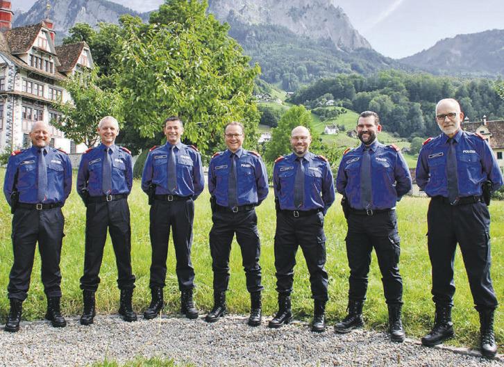 Sanfte Restrukturierung des Polizeikommandos