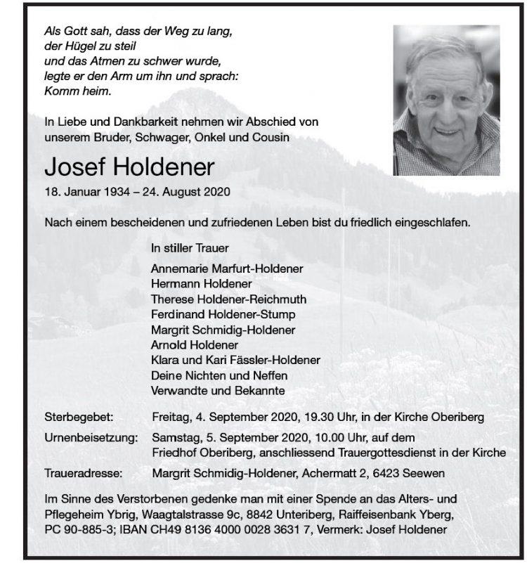 Josef Holdener
