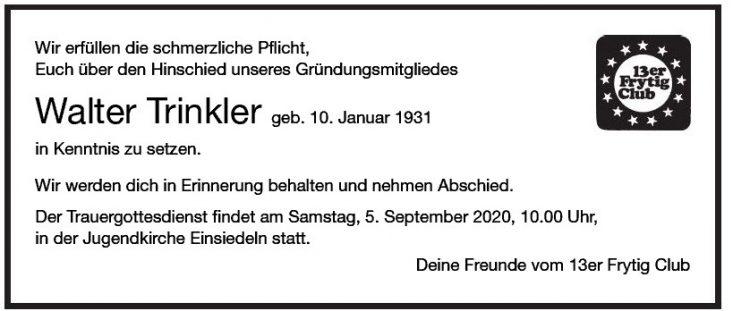 Walter Trinkler