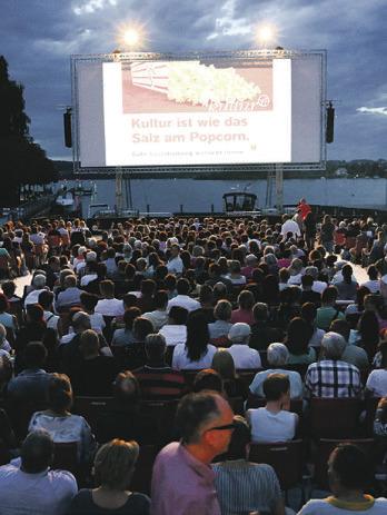 Morgen startet das  Kino am See in Pfäffikon