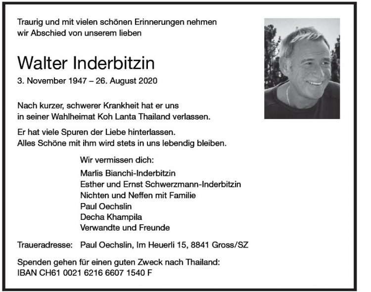 Walter Inderbitzin
