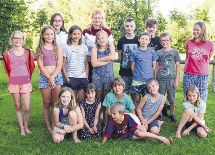 Kinder zeigten sich im  Sommerlager beflügelt