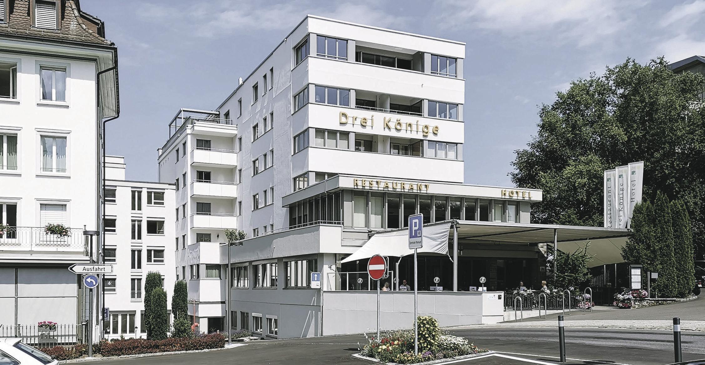 Umbau Hotel Drei Könige Einsiedeln