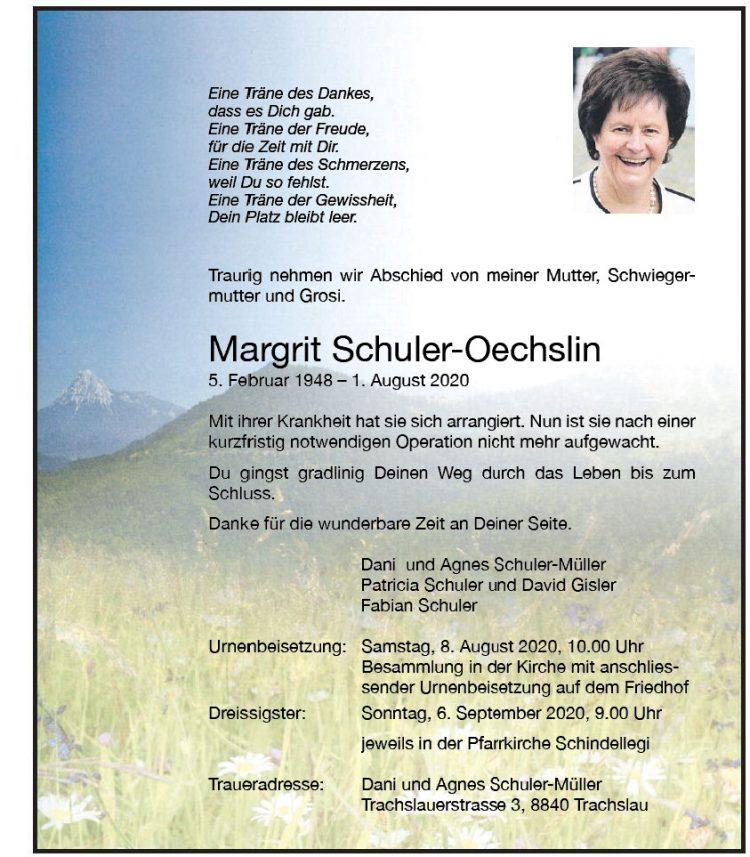 Margrit Schuler-Oechslin