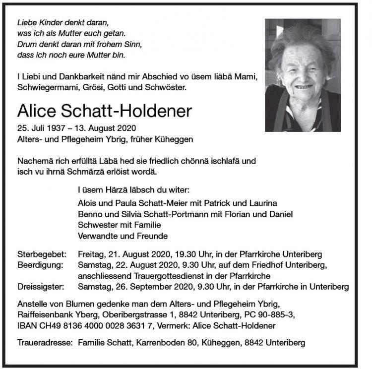 Alice Schatt-Holdener