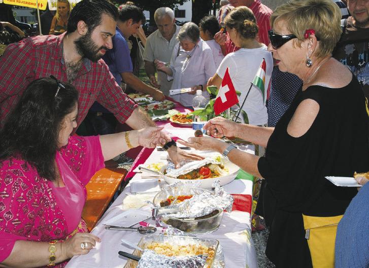 Einsiedler Völkerfest  mal anders