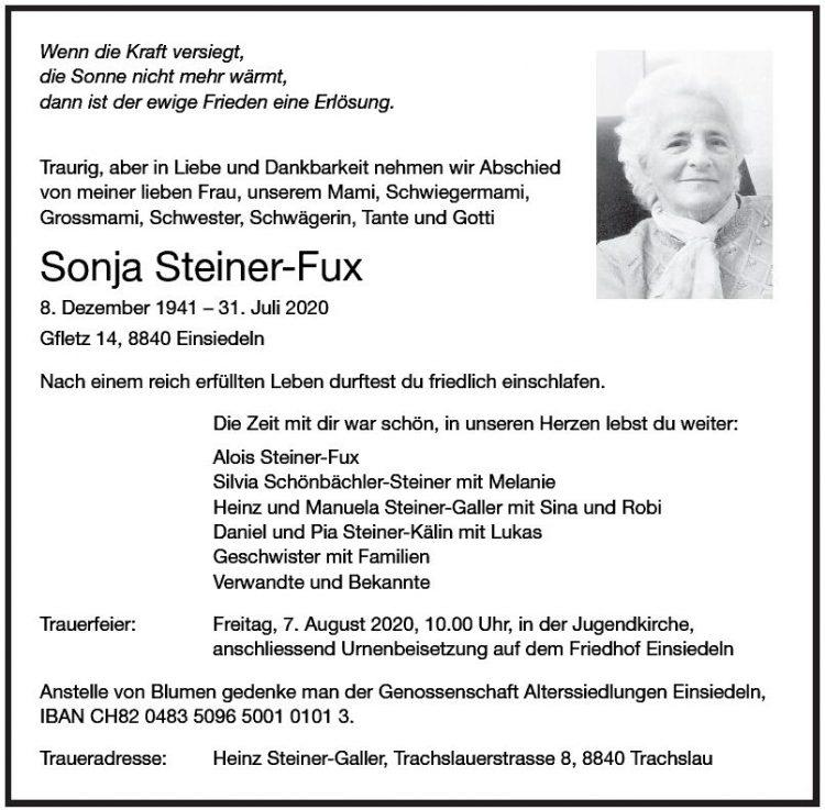 Sonja Steiner-Fux