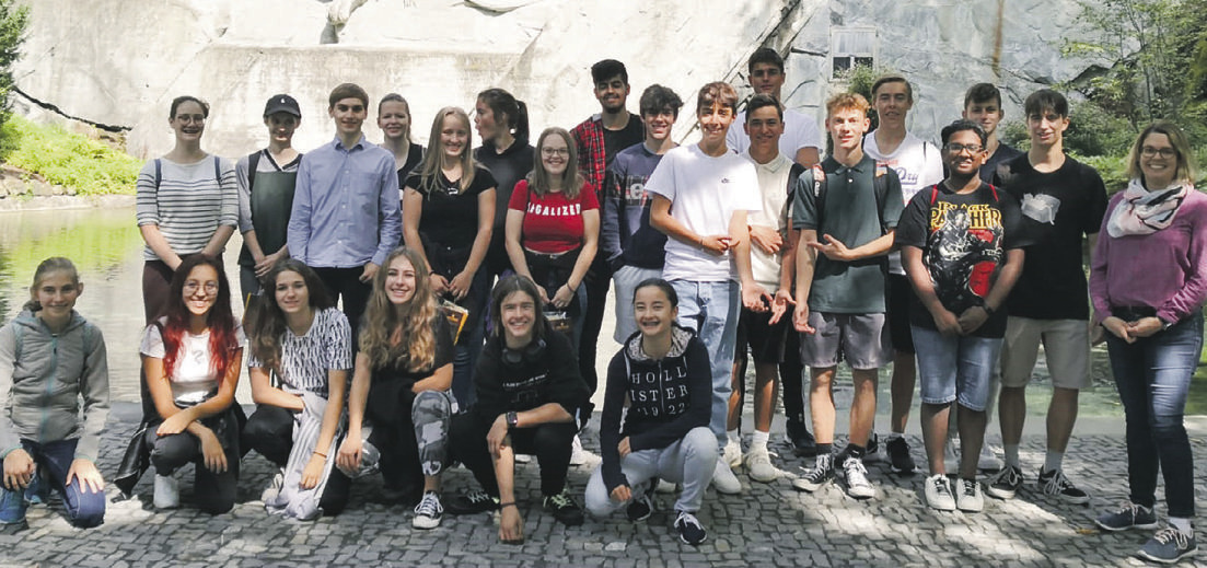 Schüler waren gemeinsam unterwegs