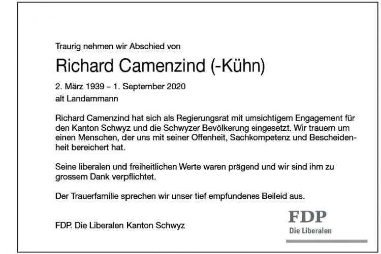 Richard Camenzind (-Kühn)