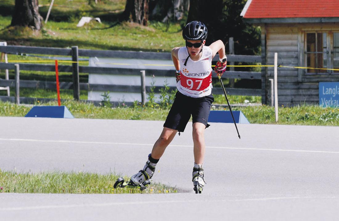 Starker Auftritt der Einsiedler  Biathleten beim Saisonstart