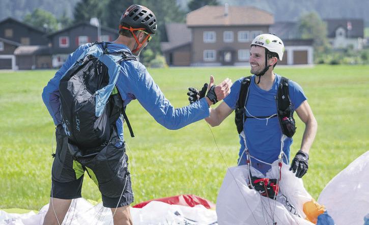 Zweite Auflage des Hike-and-Fly-Wettkampfs