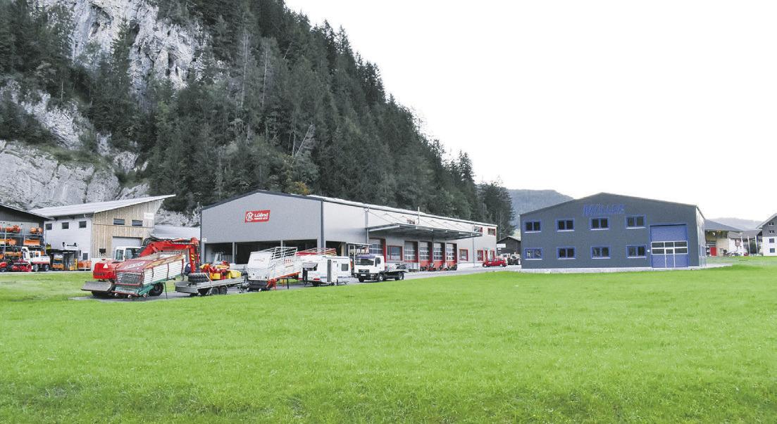 Endgestaltung der Industriezone Baumeli im Visier